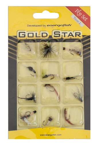 Energoteam Gold star Fly set Trout I