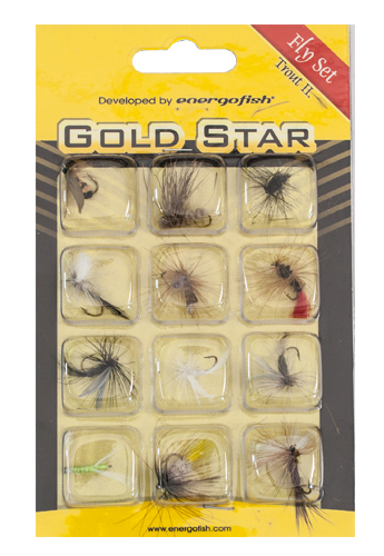 Energoteam Gold star Fly set Trout II